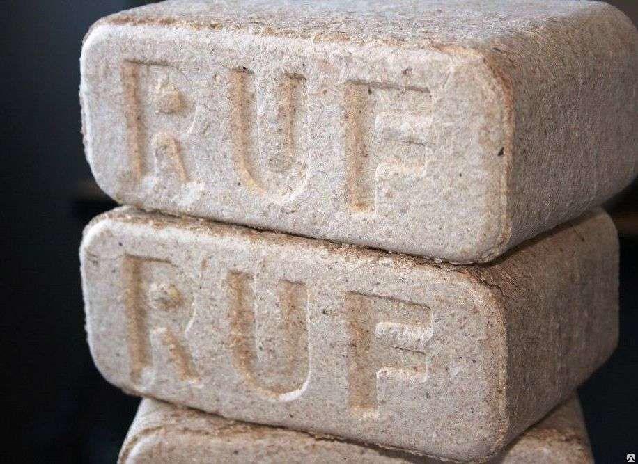 Топливные брикеты ruf: что это такое, какие имеются особенности и положительные свойства