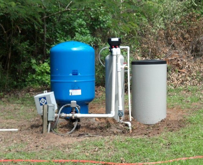 Очистка воды от железа из скважины — разнообразные способы