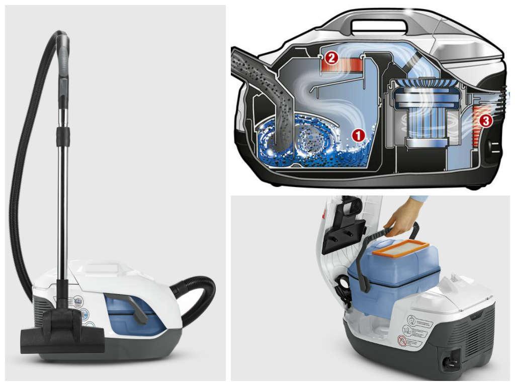 Пылесосы с водяным фильтром: обзор 10-ки лучших моделей на рынке + критерии выбора