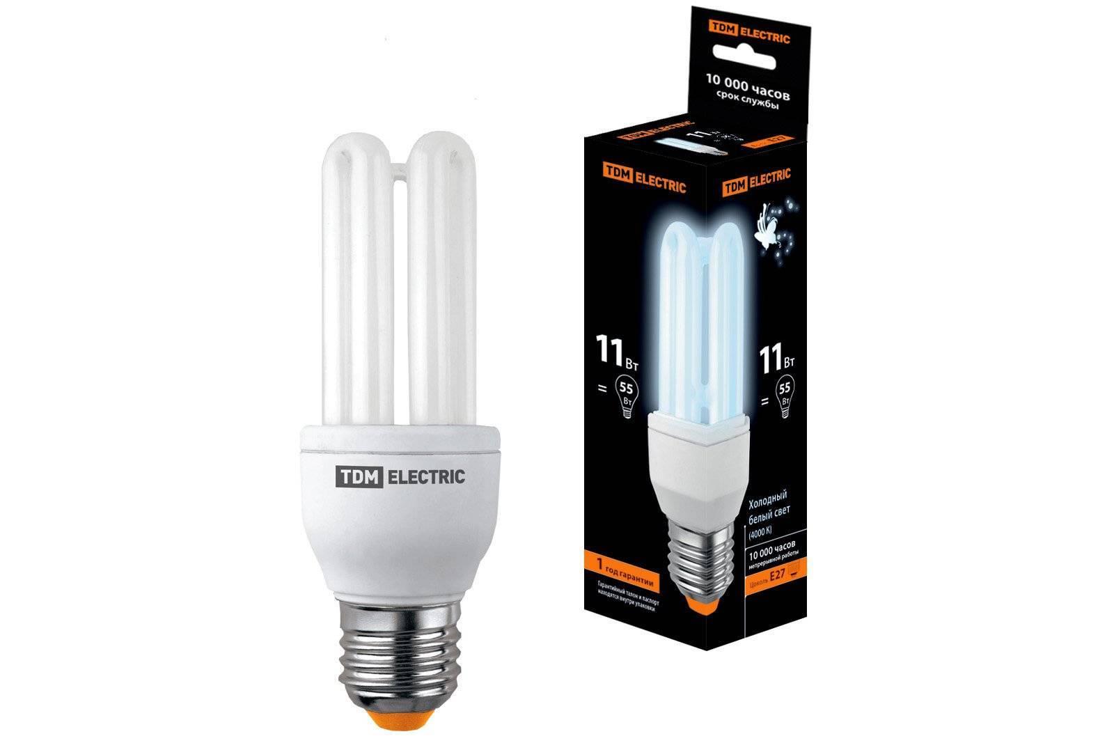 Какими бывают компактные люминесцентные лампы + лучшие производители - точка j