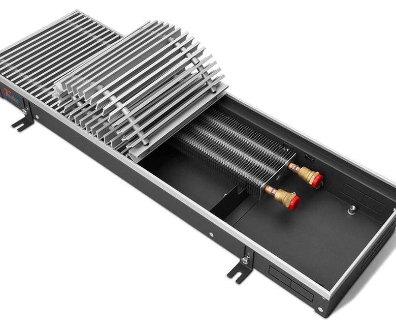 Что такое внутрипольные конвекторы отопления водяные, их цена и технические характеристики
