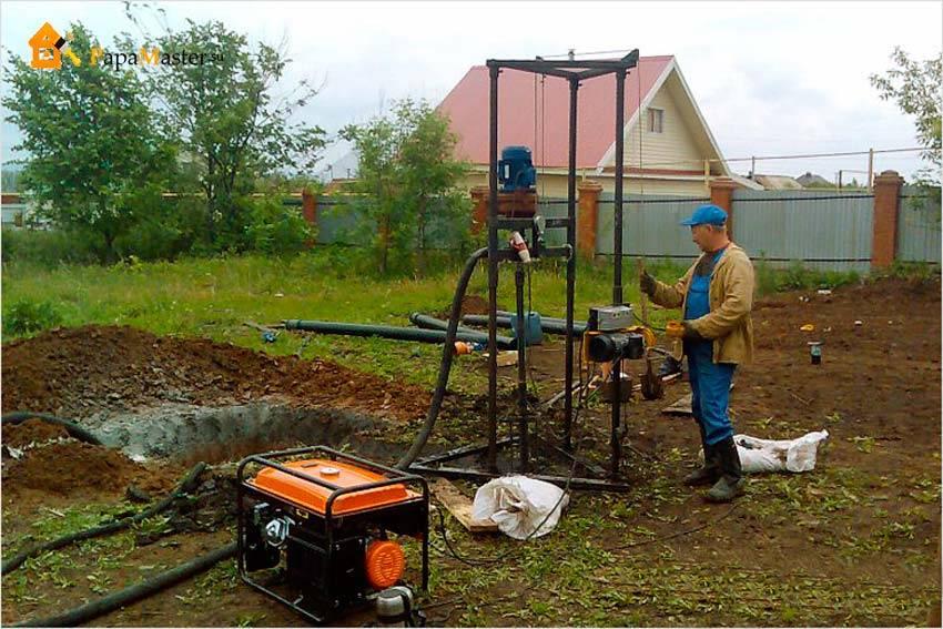 Как пробурить скважину на загородном участке. пошаговое руководство