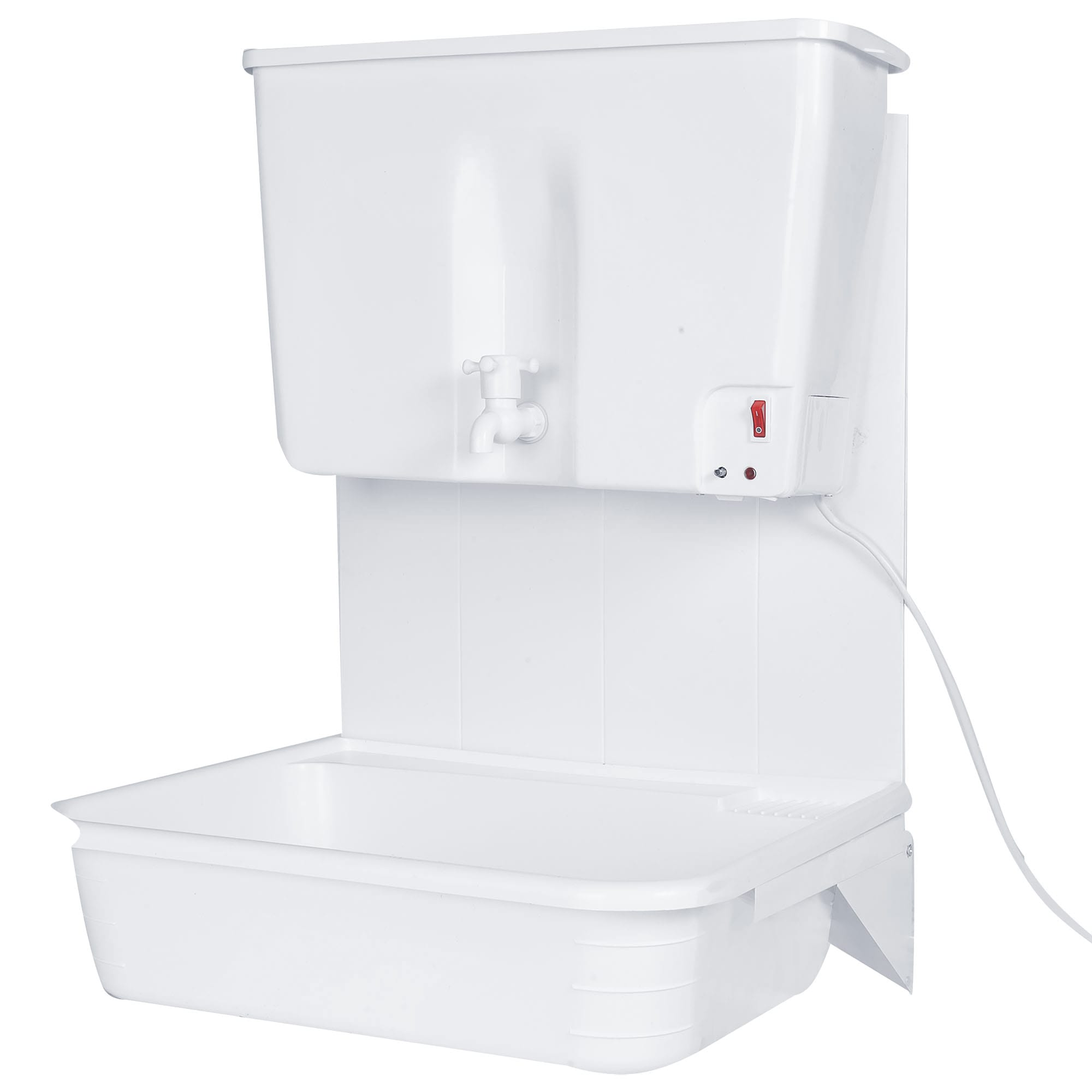 Выбираем умывальник с подогревом воды: подходящий вариант для дачи