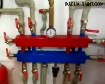 Распределительная гребёнка водопровода, что это такое
