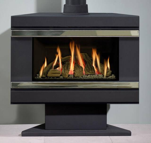 Какой газовый камин подобрать для квартиры, изучаем принцип работы системы на газу