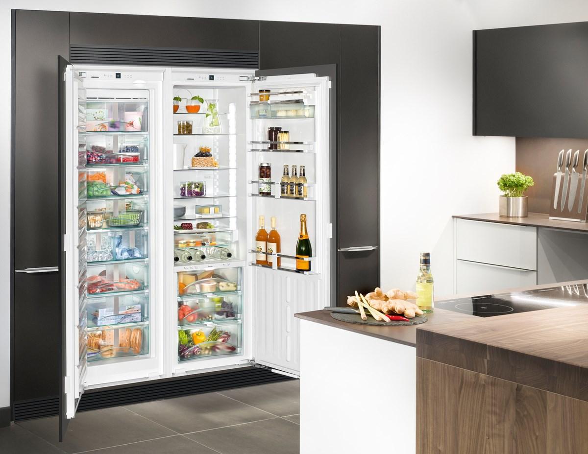 Лучшие встраиваемые холодильники: 7 моделей для любых целей