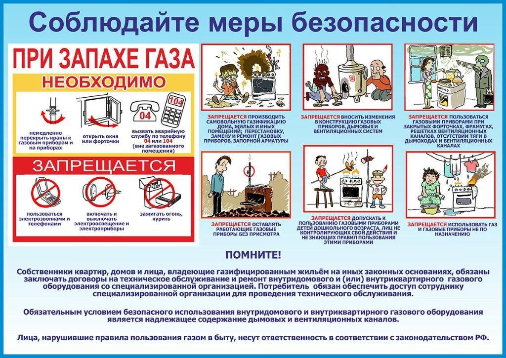 Простыми словами о правилах безопасного использования газа
