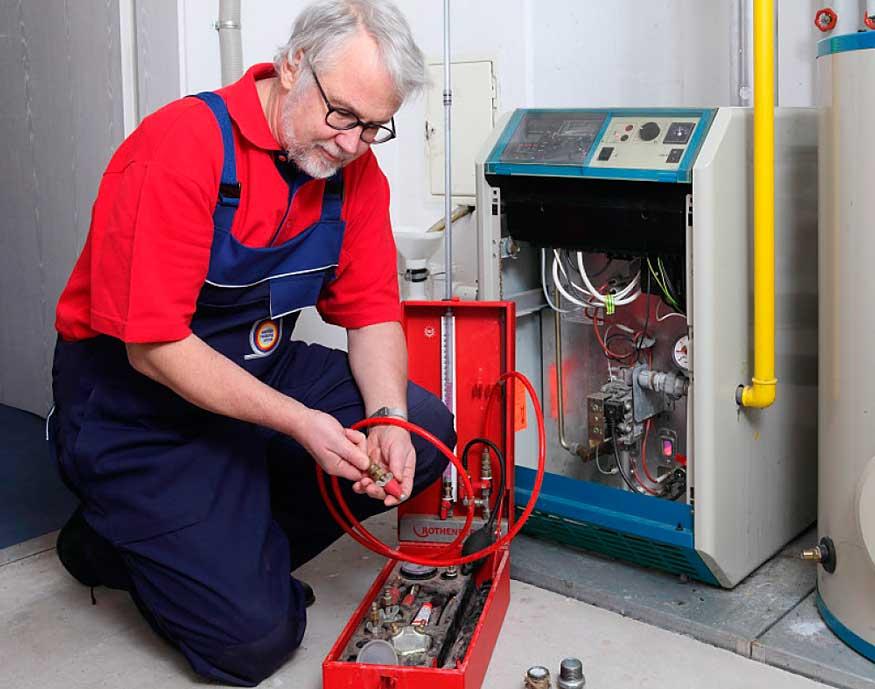 Как промыть теплообменник газового котла от накипи и сажи