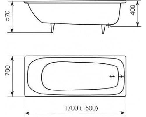 Каких размеров бывают угловые ванны? 20 популярных моделей