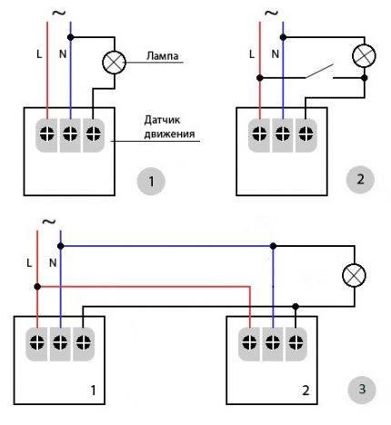 Схема подключения датчика движения: принцип работы и технические характеристики