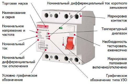 Буквенное обозначение элементов электрических схем