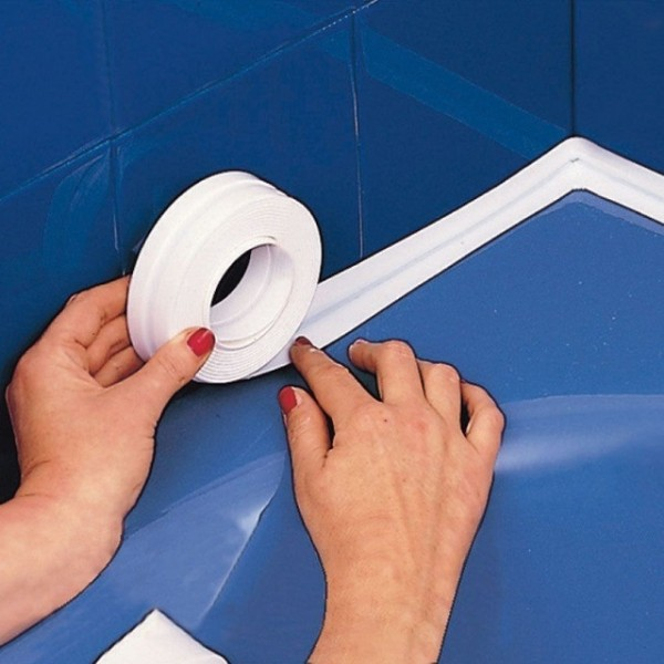 Как и чем заделать щель между ванной и стеной / zonavannoi.ru