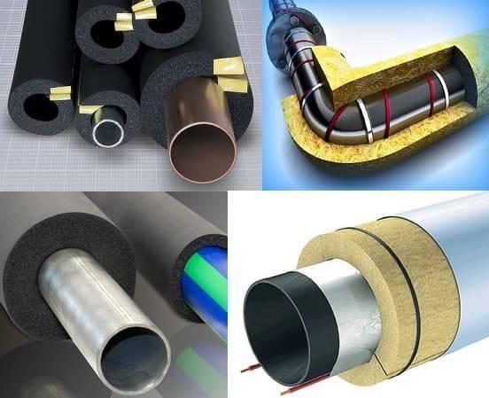 Выбираем утеплитель для труб: какой лучше для водоснабжения, а какой для канализации и отопления