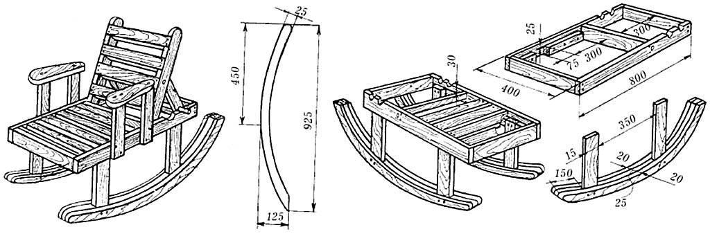 Кресло из дерева своими руками (34 фото): делаем по чертежам деревянное дачное кресло. как сделать кресло-ракушку по схеме с размерами?
