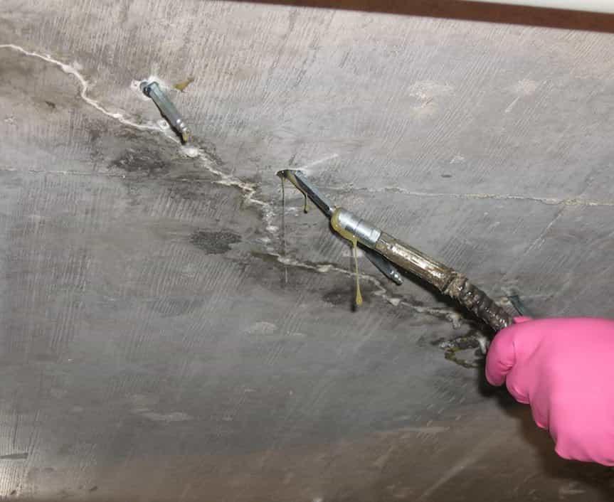 Заделка трещин в бетоне: материалы, способы, рекомендации специалистов