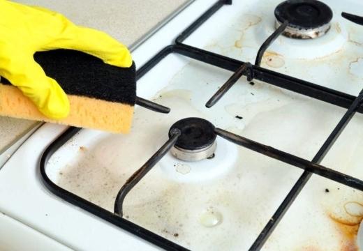 Как и чем отмыть решетку газовой плиты от жира и нагара: обзор эффективных домашних средств