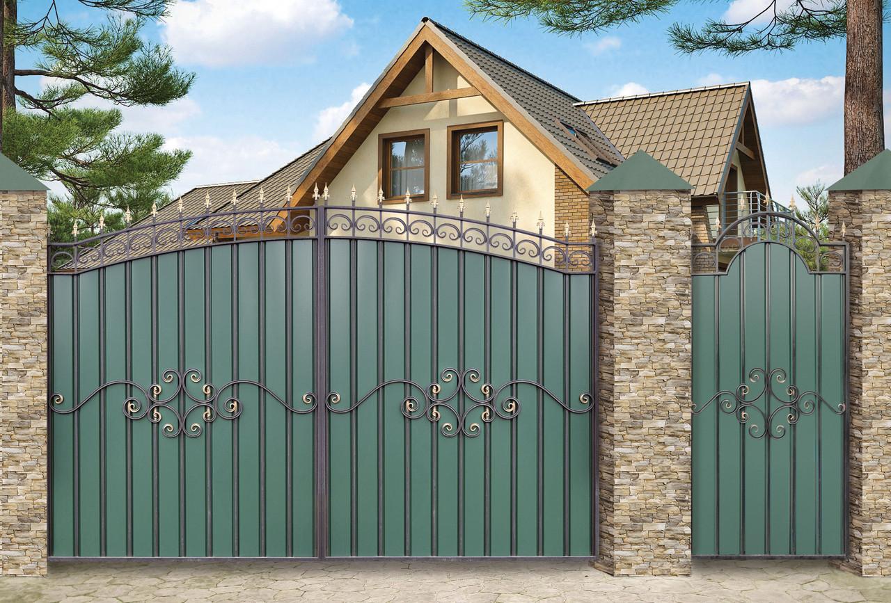 Как выбрать въездные ворота для дома: правила выбора и лучшие модели ворот