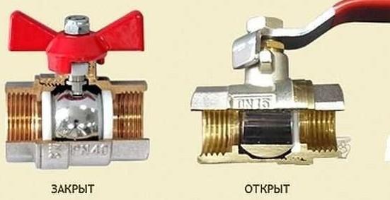Устройство крана шарового: технические характеристики, размеры и схема