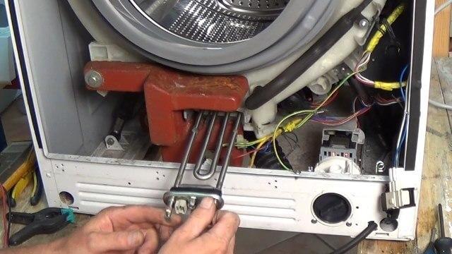 Замена тэна в стиральной машине: пошаговая инструкция