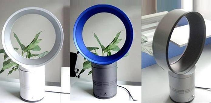 Морской бриз дома — вентилятор без лопастей