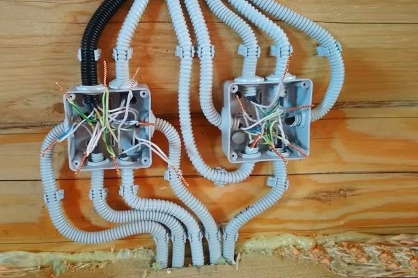 Установка распределительных коробок - всё о электрике