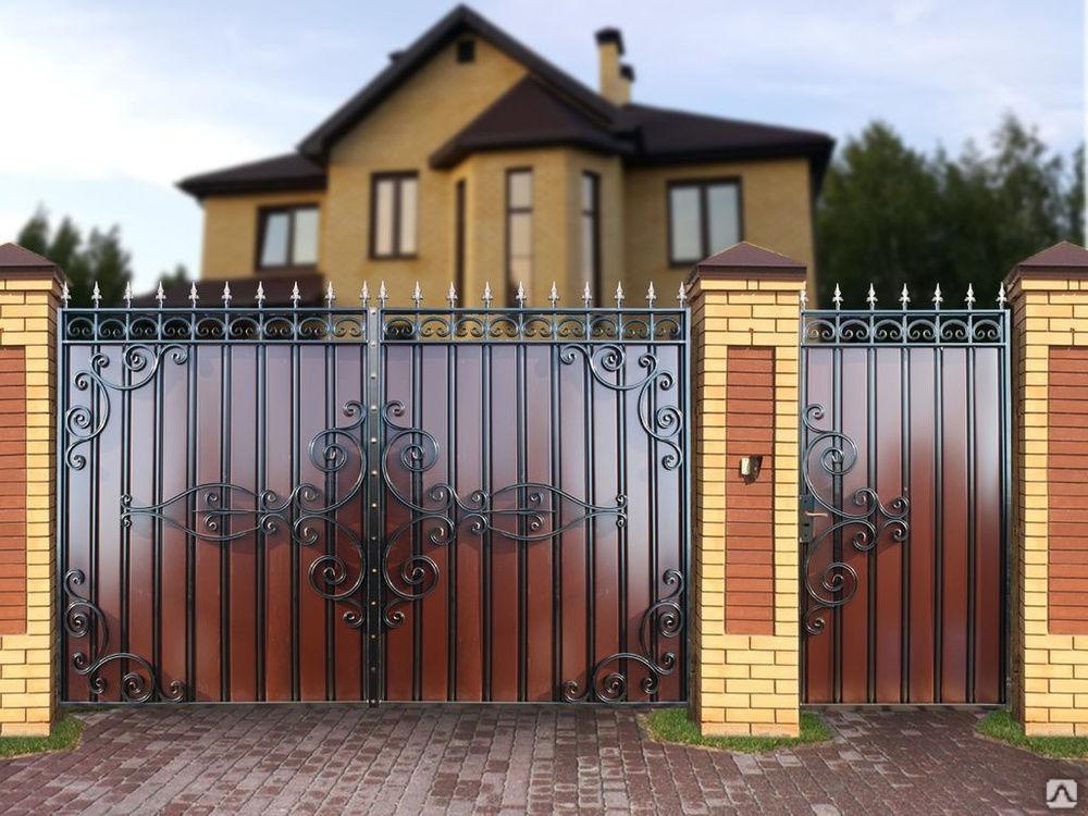 Изготовление ворот своими руками: пошаговая инструкция