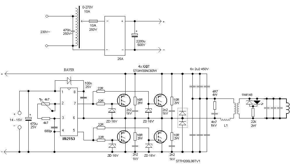 Самодельный индукционный нагреватель своими руками: схема и устройство