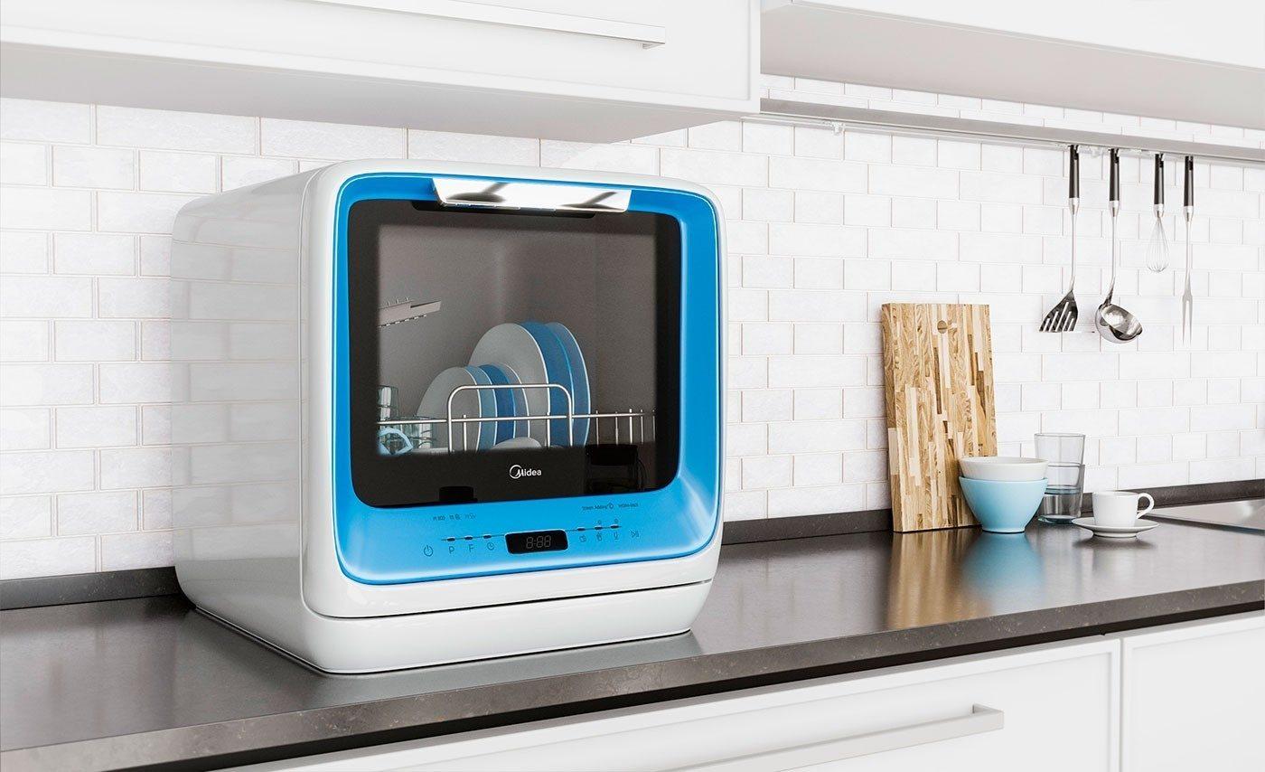 4 лучшие посудомоечные машины midea