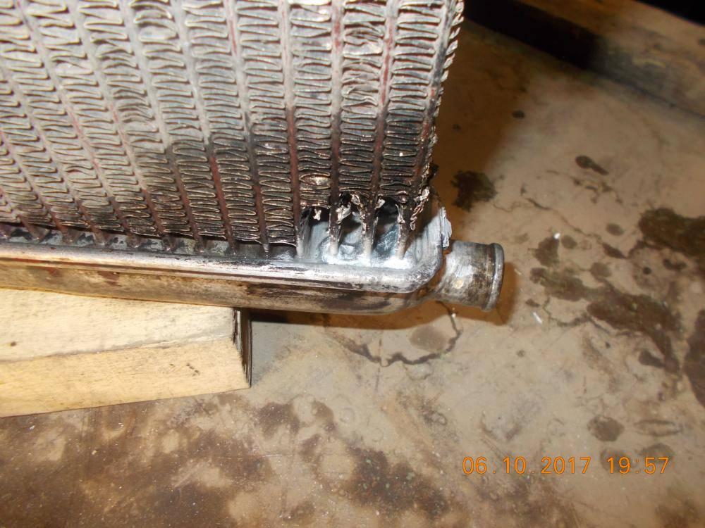 Как запаять алюминиевый радиатор в домашних условиях