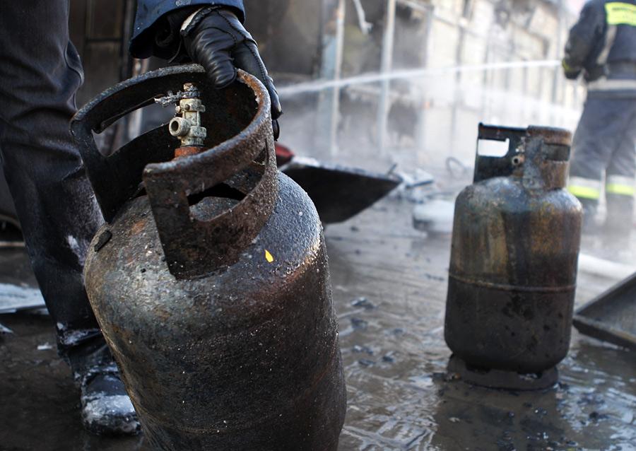 Взрыв газа из-за аварии? почти невозможно