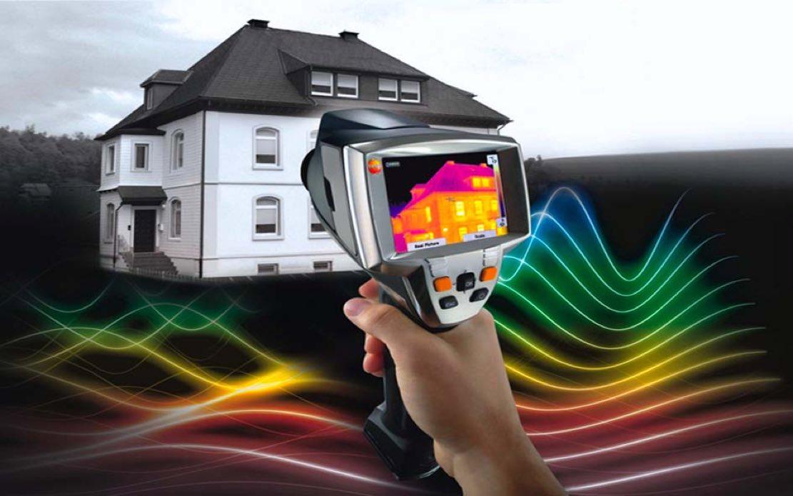 Обследование квартиры тепловизором: нужна ли экспертиза тепловизором при приемке квартиры? особенности съемки и замеров