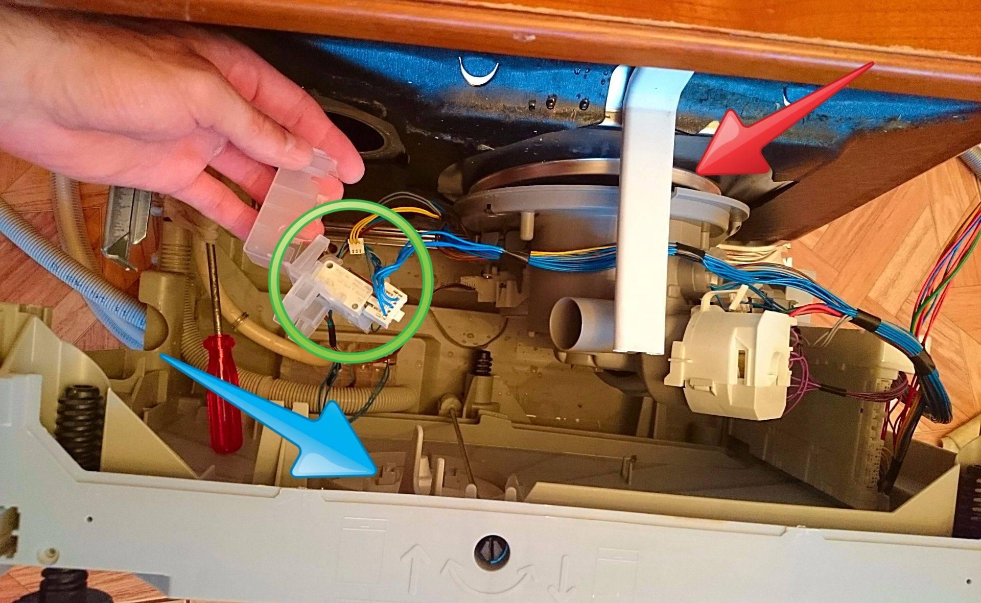 Как включить посудомоечную машину bosch, electrolux и др