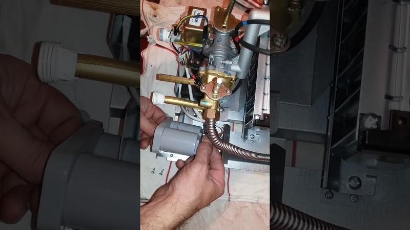 Почему трясется газовая колонка