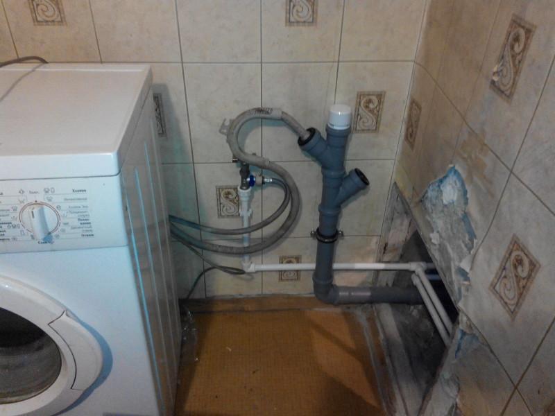 Установка стиральной машины в квартире или доме: пошаговая инструкция по установке, электропитание и водопровод