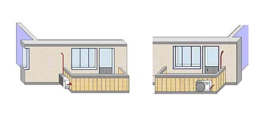 Как установить кондиционер на балконе по всем правилам