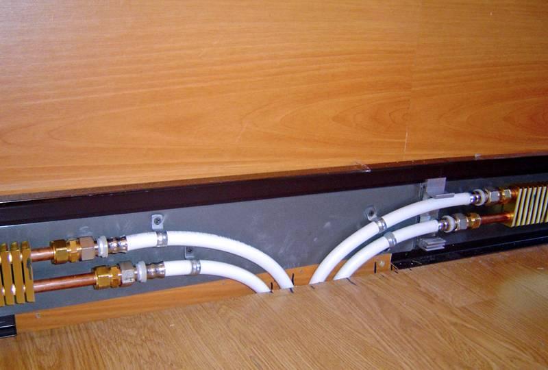 Теплый плинтус: создание отопления своими руками, водяной радиатор обогрева