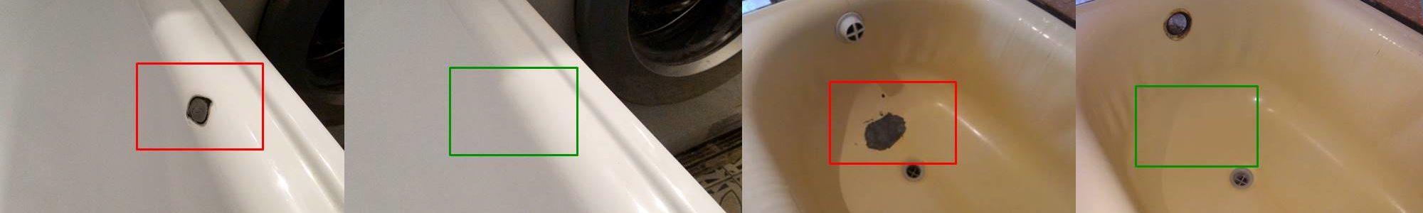 Ремонт сколов эмалированных ванн своими руками / zonavannoi.ru