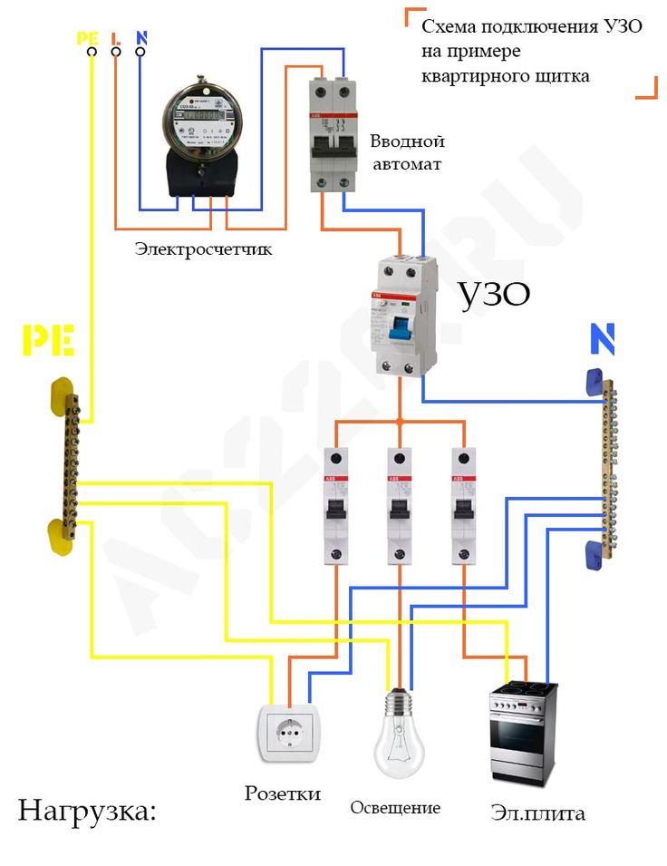 Дифавтомат для водонагревателя
