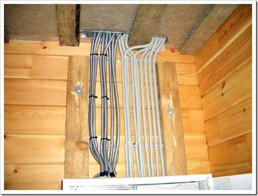 Каким кабелем делать проводку в деревянном доме: виды негорючего кабеля и его безопасная укладка