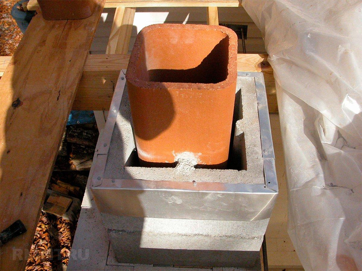 Керамический дымоход — устройство и монтаж канала из керамики