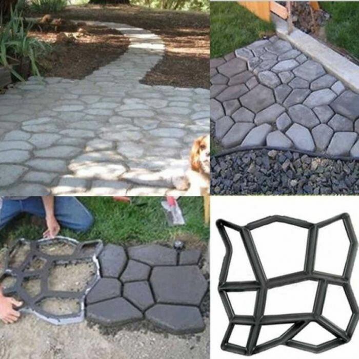 Технология и особенности изготовления тротуарной плитки своими руками