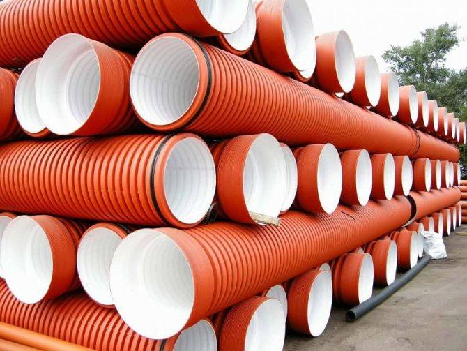Канализационные трубы пвх для наружной канализации: разновидности монтаж + обзор