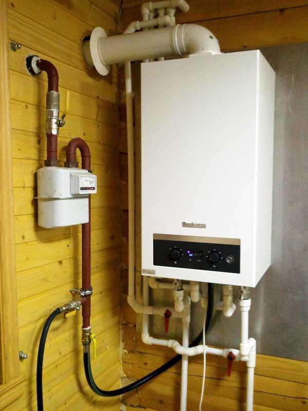Установка настенного газового котла | отопление дома и квартиры
