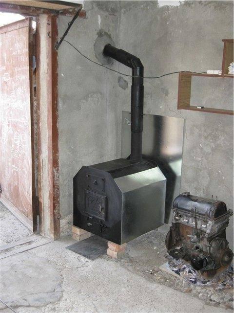 Буржуйка для гаража своими руками - сбора и установка, инструкции!