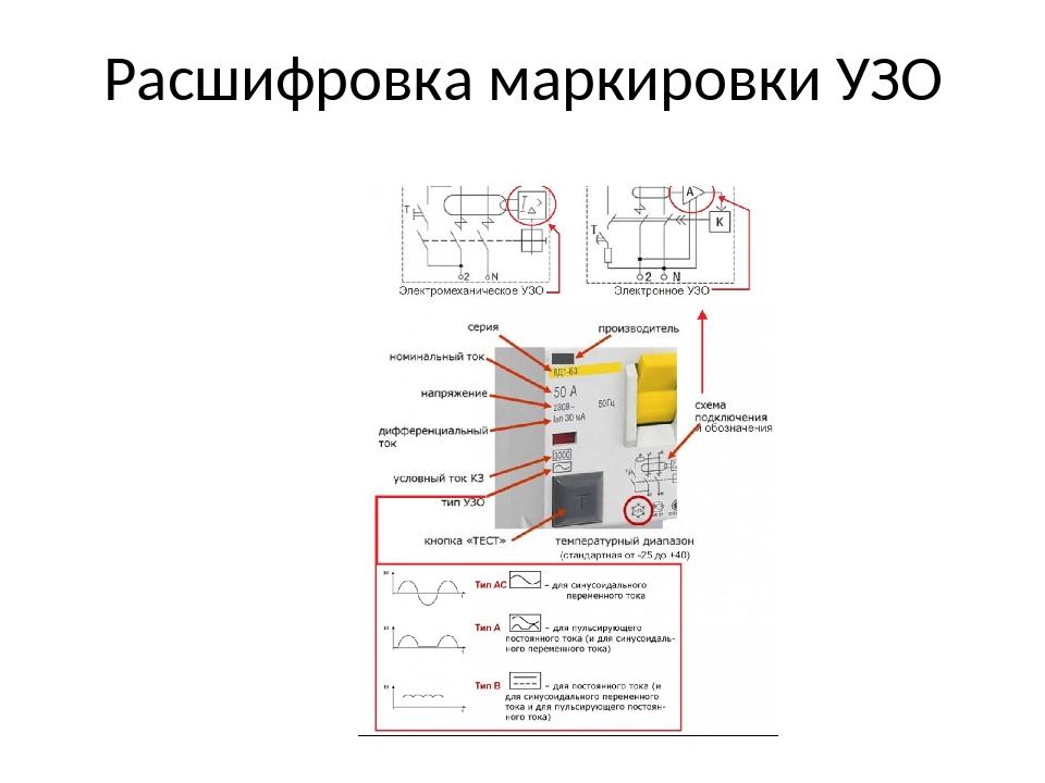 Что такое узо в электрике: как расшифровывается, где применяется