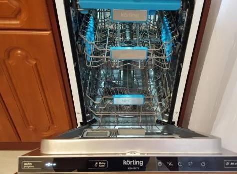 Посудомоечная машина korting kdi 45175 - посудомоечные машины