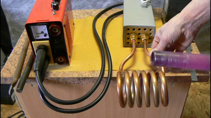 Индукционные нагреватели своими руками – индуктор из сварочного инвертора