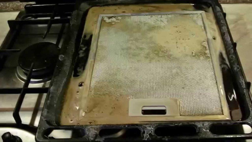 Как почистить вытяжку и ее фильтр от жира и грязи за 15 минут