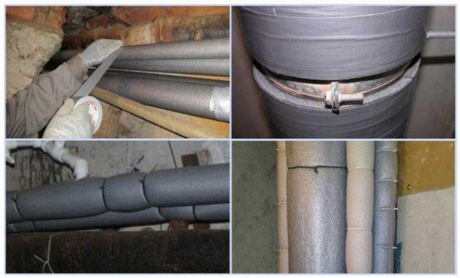 Какой утеплитель для канализационных труб лучше выбрать – варианты материалов, преимущества и недостатки