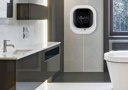 Подвесная стиральная машина